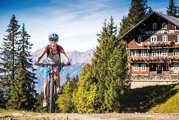 Radtour Loassattel - Hochfügen - Schwaz