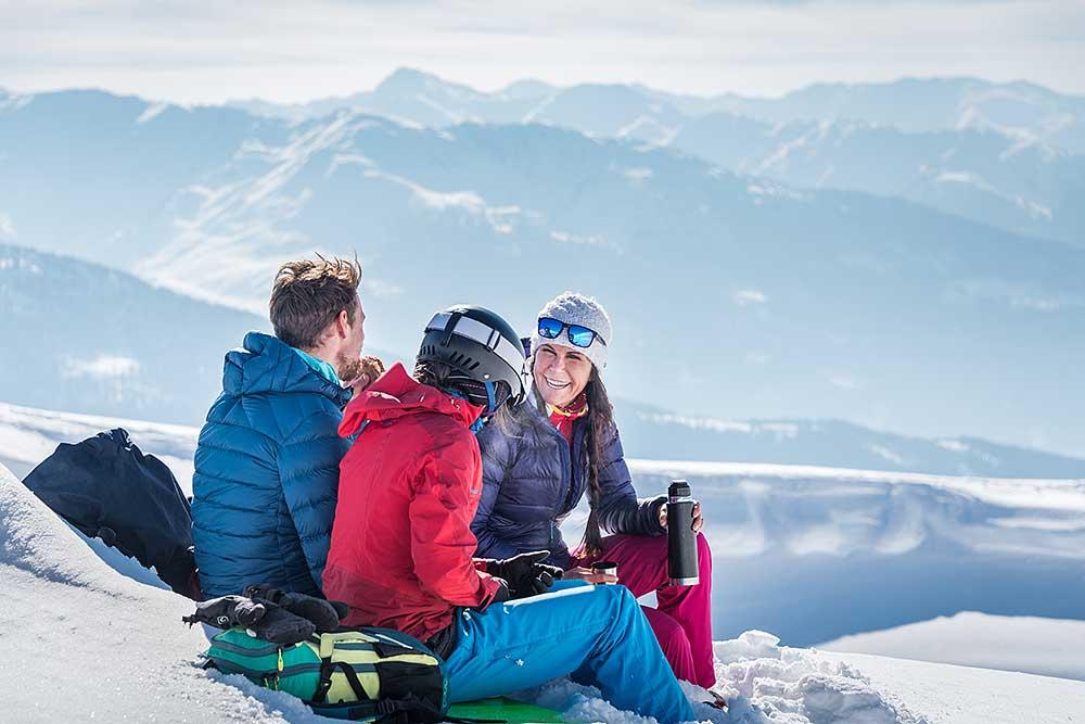 Ski Tours on the Kellerjoch