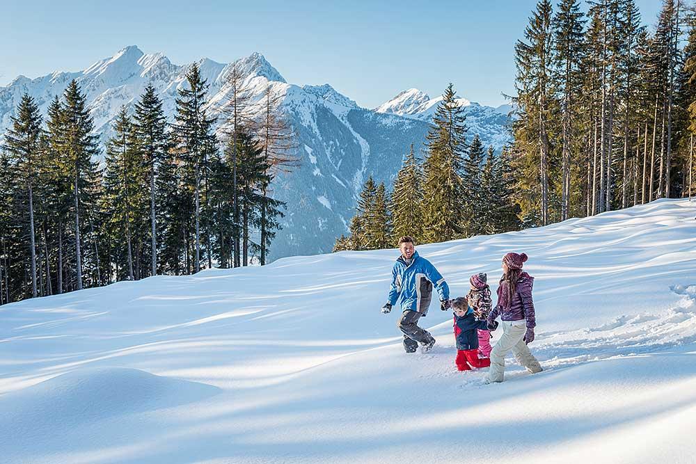 Winter Hiking at the Kellerjoch