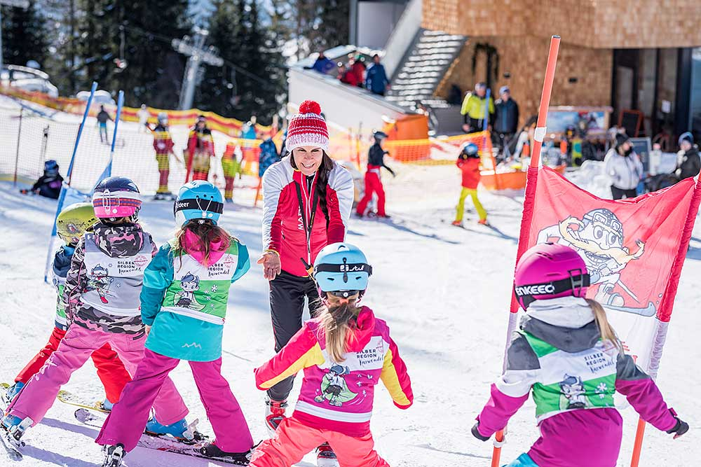 Ski school for children