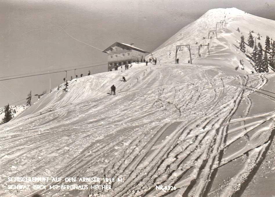 Skilift Arbeser 1961