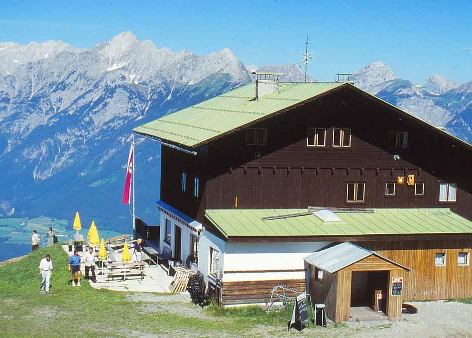 Hecherhaus vor dem Umbau 1990