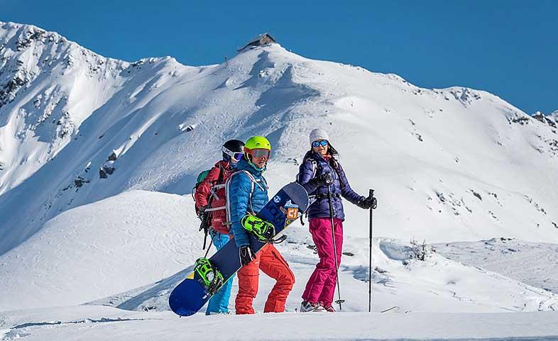 Skitourenabend am Kellerjoch