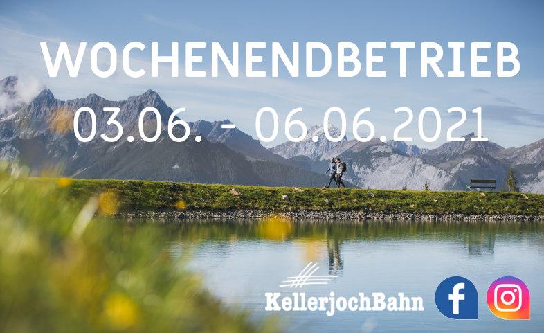 Sommersaisonstart KellerjochBahn